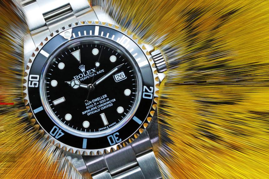 ロレックス シードゥエラー Ref.16600 F品番 2004年頃製造