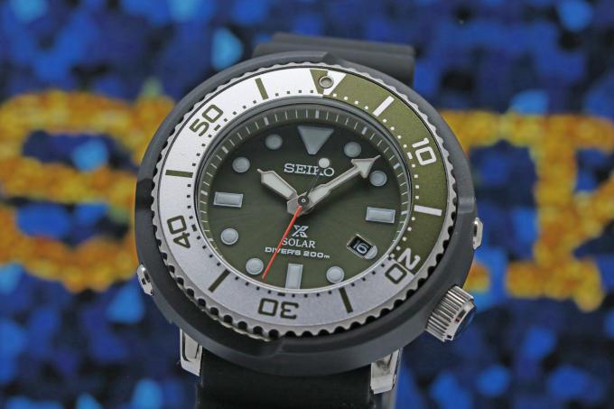 SEIKO SBDN039 PROSPEX BEAMS DIVER 300 Limited Solar Tuna