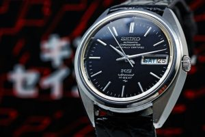 King Seiko Chronometer Special  black mirror dial Ref.5246-6000