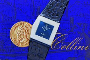 ROLEX CELLINI KING MIDAS Ref.4017/8 WG BLUE DIAL