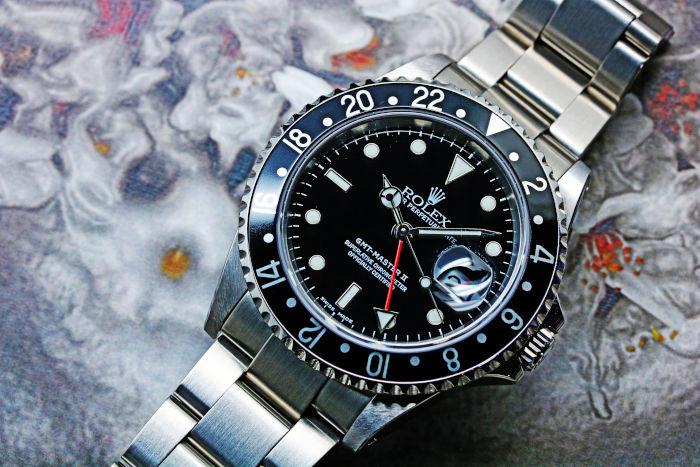 info for 919b0 652fa ロレックス GMTマスターII 16710 生産終了モデル 高価買取 ...