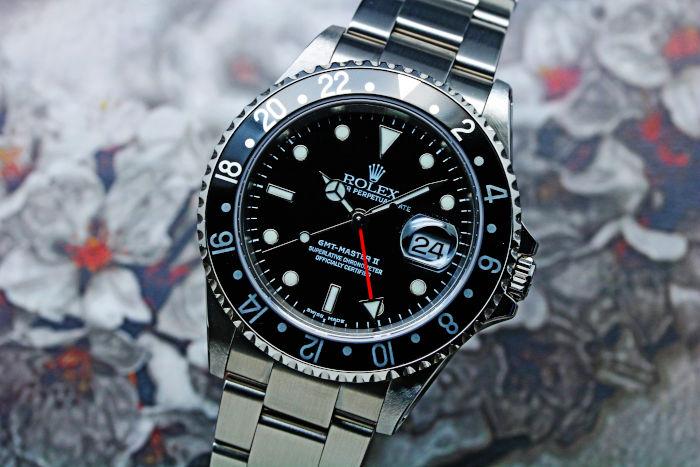 ロレックス GMTマスターII 16710 生産終了モデル 2002年(Y番)
