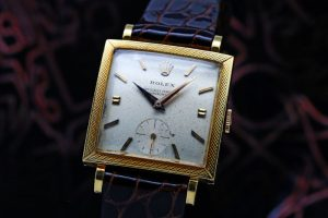 Rolex Yellow Gold Square Ref.9574 Cal.1200