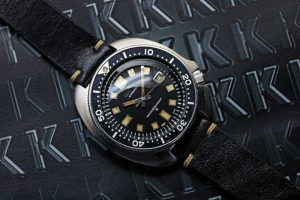 1974 Seiko second diver 6105-8110 Uemura model 150 meters late-type
