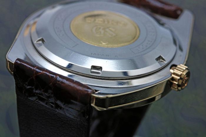 グランドセイコー 61GS 後期モデル カップゴールド 6146-8000 昭和44年/1969年5月製造
