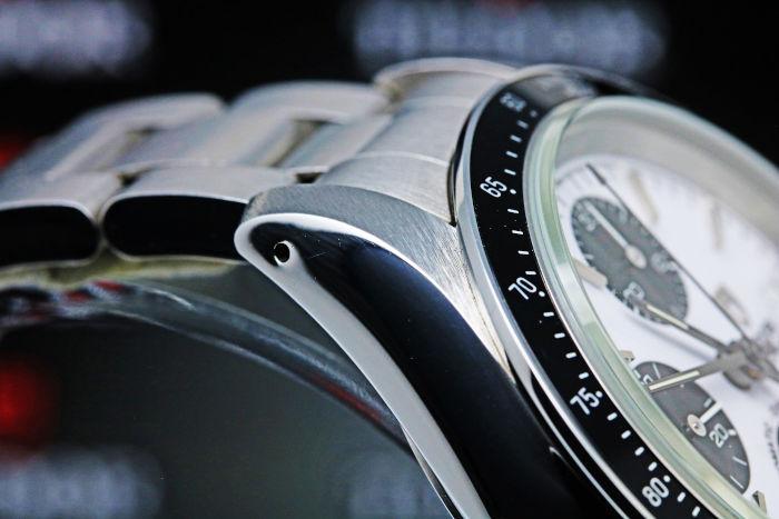 チューダー プリンスデイト クロノタイム 79260 自動巻き ホワイト クロノグラフ デイト