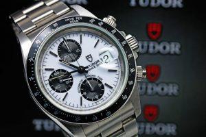 TUDOR PRINCE DATE CHRONOTIME 79260 White Dial 40mm