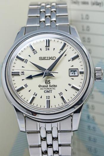 GRAND SEIKO SBGM003 9S56-00B0 GMT Automatic Men's