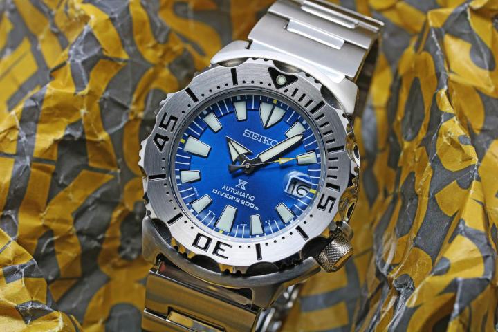 Seiko PROSPEX Limited Model Diver Scuba Monster SBDC067