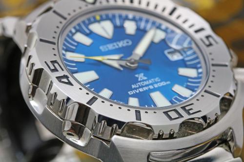 SBDC067 青い文字盤 写真