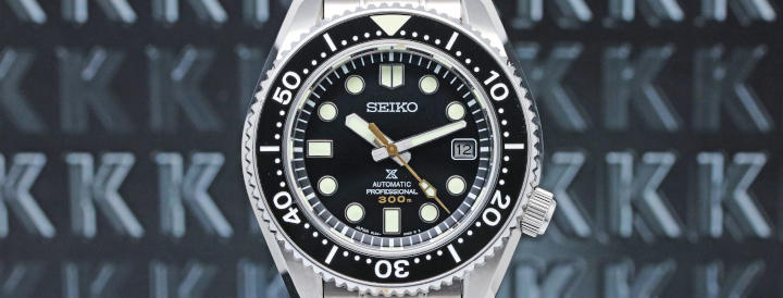 Seiko MarineMaster Professional Diver 300 meter SLA021J1 or Japan ref. as SBDX023