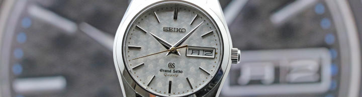 Grand Seiko Cal.9F83 40th Limited 500  Watch SBGT033