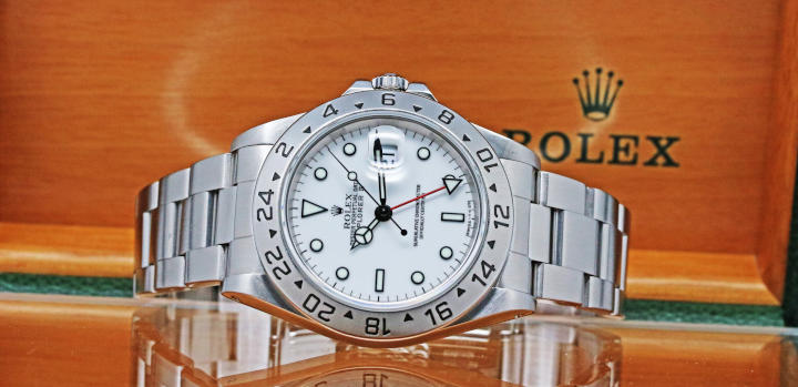 View our current collection of Rolex 16570
