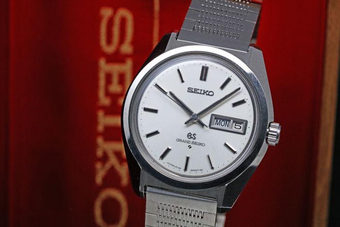 セイコー グランドセイコー 61GS 6146-8000 Cal.6146A 1968年2月製造 GS純正ステンレスブレス GS基準合格証明書