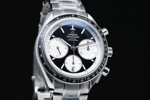 Chronograph, Date Omega Speedmaster Racing Inverted Panda Dial Chronograph Mens Watch 326.30.40.50.01.002.