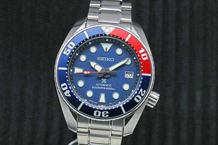 SEIKO Prospex 200M Diver Automatic SBDC057 Pepsi Color Made in Japan