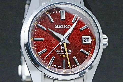 SBGJ021 Grand Seiko Hi-Beat 36000 GMT caliber.