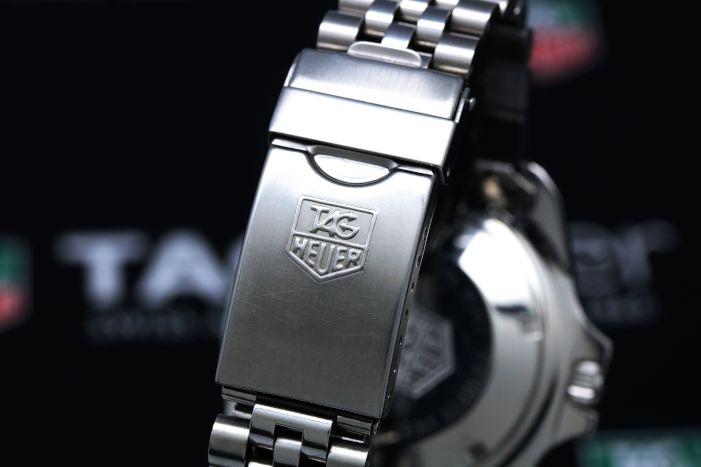 タグホイヤー プロフェッショナル200mダイバー 844/5 ステンレス 自動巻き スクリューバック
