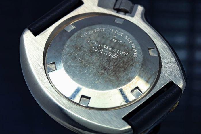 セイコー 150mダイバー 2nd 後期 植村モデル 6105-8110 自動巻き オーバーホール済み