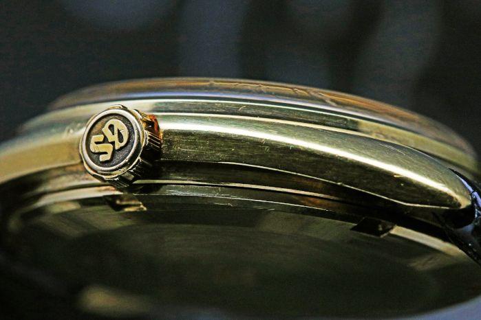 グランドセイコー 56GS Ref.5646-7005 18KYG GS純正革バンド K18製GS尾錠 1971年5月製造 自動巻き Cal.5646A
