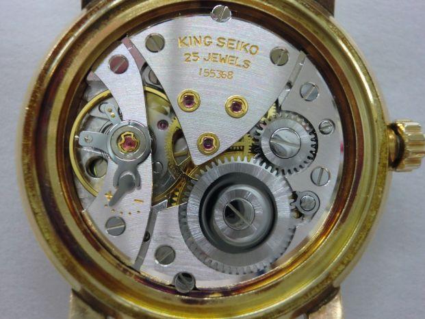 キングセイコー ファーストモデル Ref.J14102E 14金張り 手巻き式 整備メンテナンス済み