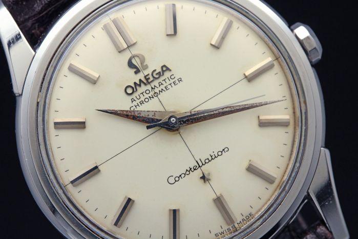 オメガ コンステレーション 14381/11SC 自動巻き Cal.551 クロノメーター 1961年頃製造 オーバーホール済み