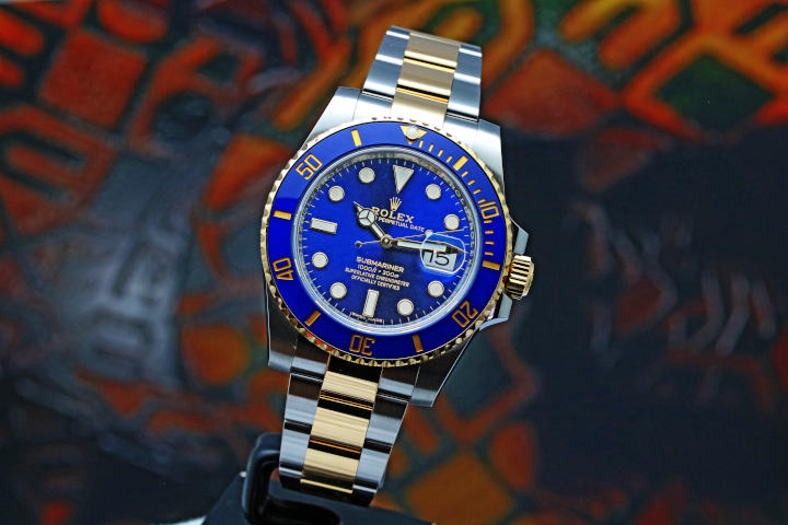 ROLEX Submariner Date 116613LB Automatic Blue Dial Men's Watch (17)