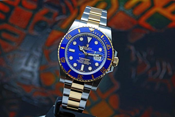 ROLEX Submariner Date 116613LB Automatic Blue Dial Men's Watch (17)