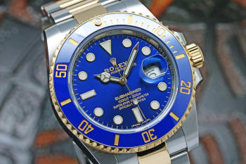 ROLEX Submariner Date 116613LB Automatic Blue Dial Men's Watch
