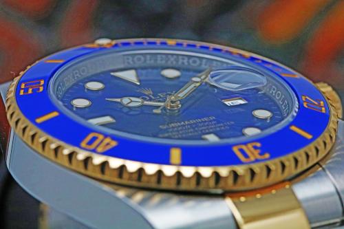Submariner Date 116613LB Dial Blue