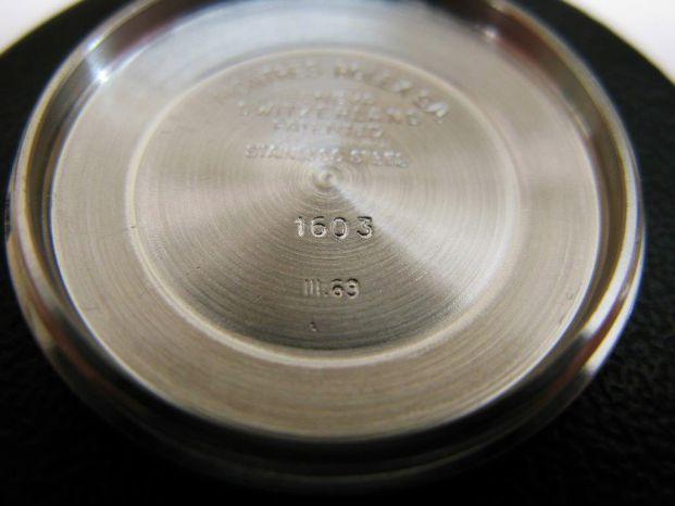 ロレックス デイトジャスト Ref.1603 ブラック 1967年
