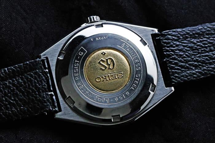 グランドセイコー61GS スペシャル Ref.6156-8040 1974年8月製造 GS純正革ベルト GS純正尾錠 オーバーホール済み