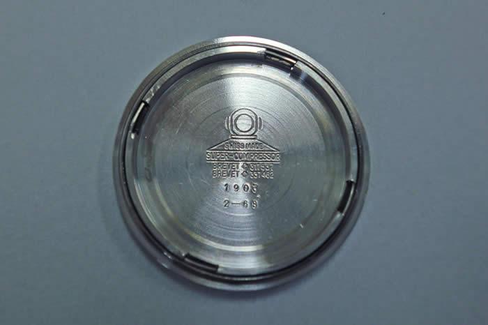 テクノス スカイダイバー Ref.1903.2-68 ESPA社製 コンプレッサーケース Cal.AS1902/03