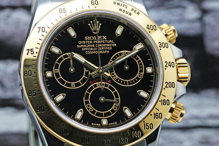 Daytona 116523 100m防水 クロノグラフ