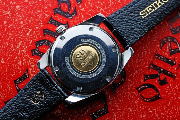 グランドセイコー 5722-9991 2ndモデル 後期型 GSメダリオン 手巻 OH済 昭和42年製 GS純正革バンド GS純正尾錠