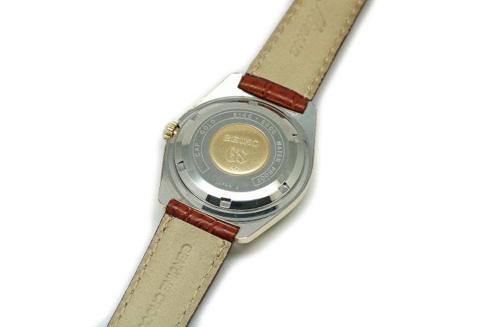 グランドセイコー 61GS 後期モデル カップゴールド 6146-8000 昭和44年/1969年2月製造 オーバーホール済み