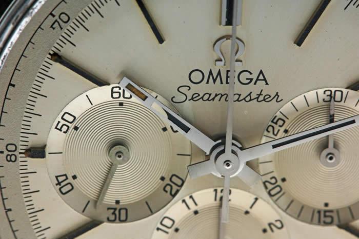 オメガ シーマスター クロノグラフ 145.006 Cal.321 1967年頃 手巻き オーバーホール済み