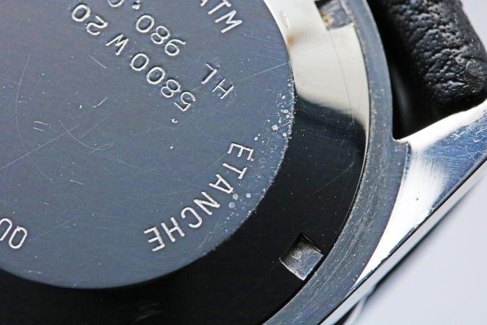 ホイヤー プロフェッショナル 200M 980.013 クオーツ 黒文字盤