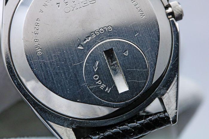 セイコー キングクオーツ 4823-8110 1977年8月 クオーツ バッテリー交換済み