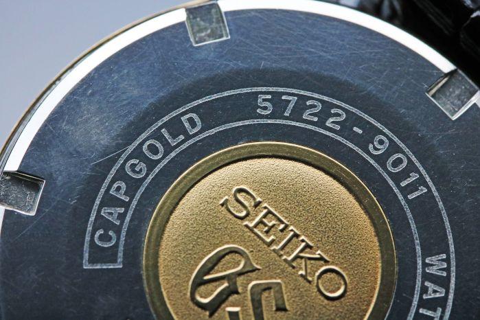 グランドセイコー 57GS セカンドモデル Ref.5722-9011 1967年7月製造 手巻 金張(K14) オーバーホール済み