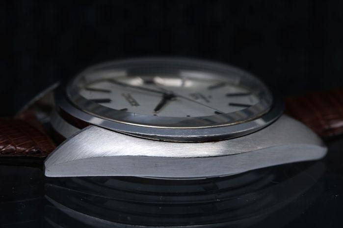 キングセイコー 45KS Ref.4502-7010 Cal.4502A 1970年9月製造 絹目模様 手巻き オーバーホール済み