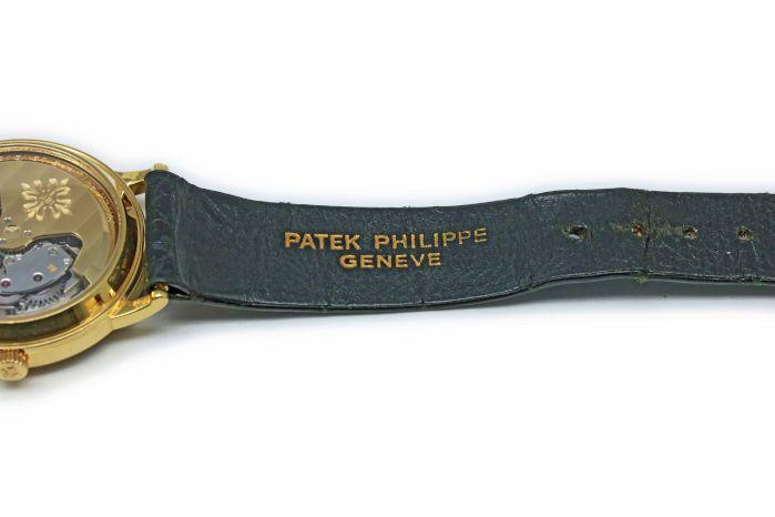パテックフィリップ カラトラバ Ref.3561 Cal.27-460 シースルーバック イエローゴールド 1970年