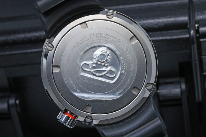 シチズン プロマスター MARINE-エコ・ドライブ プロフェッショナルダイバー1000m BN7020-09E スーパーチタニウム