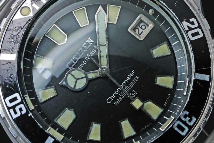 シチズン クロノマスター500Mダイバー 4-540263 1969年1月製造 自動巻き オーバーホール済み