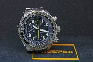 SEIKO Flight Master SBDS003 Chronog Titanium Automatic