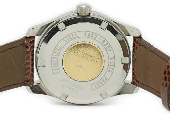 セイコー 44キングセイコー デイト 4402-8000 GSメダリオン 手巻 1968年7月 オーバーホール済み