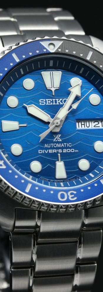 セイコー プロスペックス ダイバースキューバ Save the Ocean スペシャルモデル SBDY031