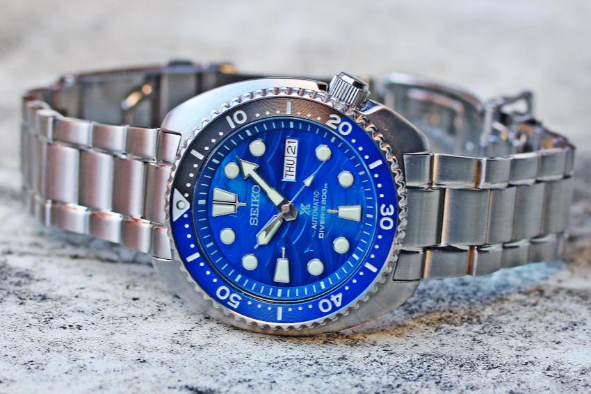 SEIKO Prospex Diver scuba Save the Ocean Special Edition SBDY031 45mm 4R36