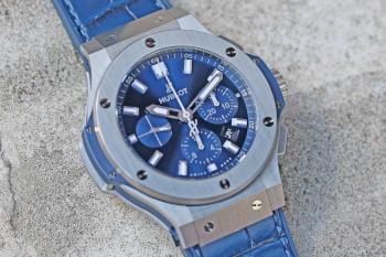 HUBLOT Big Bang Steel Blue 301.SX.7170.LR HUB 4100 44mm