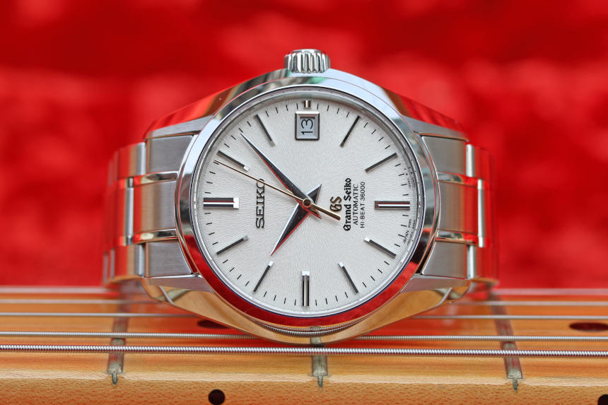 SBGH047  The Grand Seiko medallion watermark has been moved to the outside of the crystal